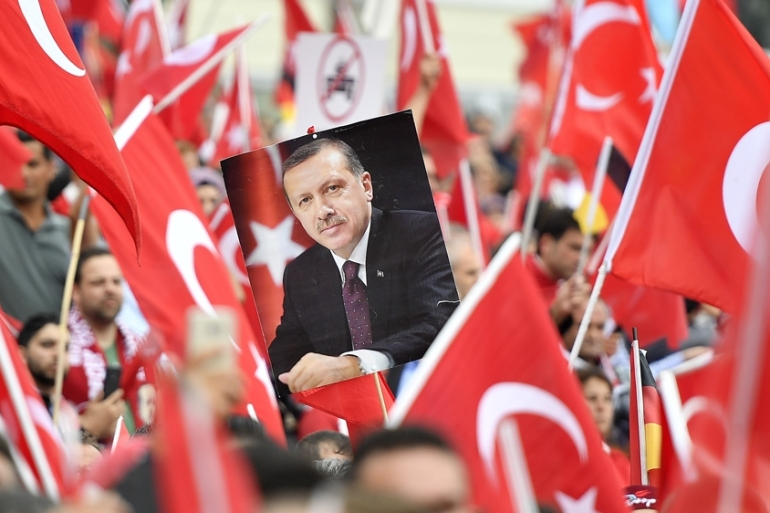 Some of those sentenced were accused of attempting to kill President Erdogan [Martin Meissner/AP]