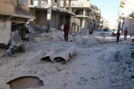 Syrian government forces advance on rebel-held Aleppo