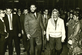 Arafat made as many eight official visits to Castro's Cuba [The Arafat Foundation]