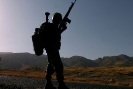 During the campaign more than 50 PKK targets, including ammunition depots, caves and bases, were destroyed [File Reuters]