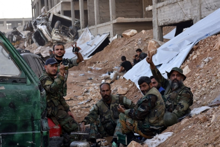 Syrian government forces launched a major assault on eastern Aleppo in September [EPA]