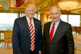 Trump: I'd love to make Israel-Palestine peace deal