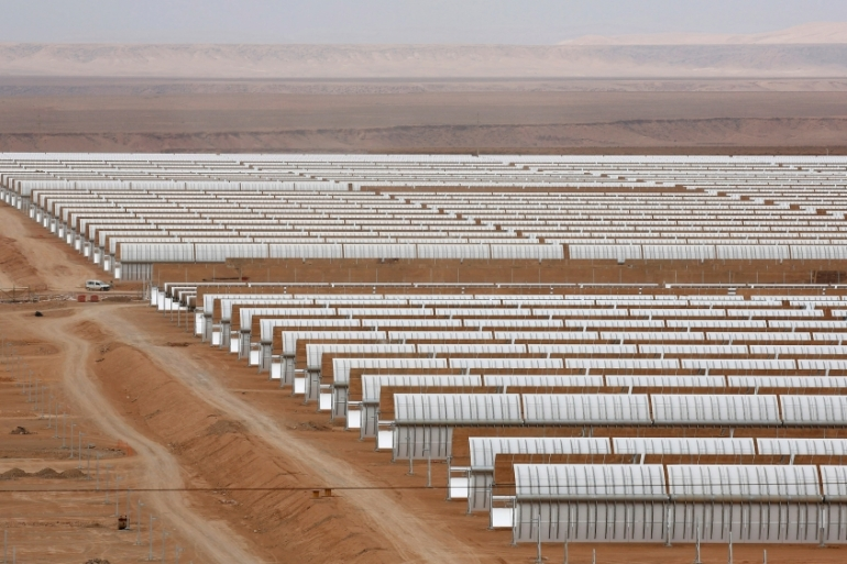Morocco is a leader of green energy in Africa and the Middle East [Reuters]