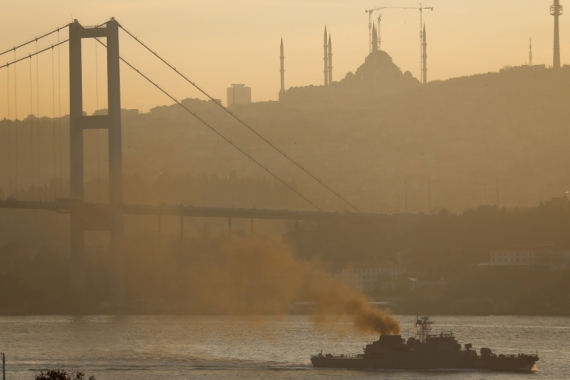 Turkey's Bosphorus and Dardanelles straits link the Black Sea and the Mediterranean Sea [File: Murad Sezer/Reuters]