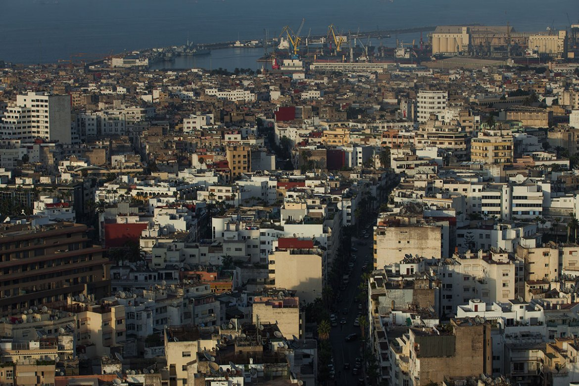 Casablanca, the economic capital of Morocco, has more than three million residents and thousands of hammams. [Sebastian Castelier/Al Jazeera]