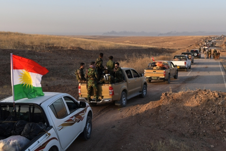 Analysts warn that tensions between the Kurdistan Regional Government and Baghdad could fuel a proxy war between regional powers [Carl Court/Getty Images]