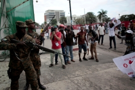 Tension mounts as Haiti awaits election results