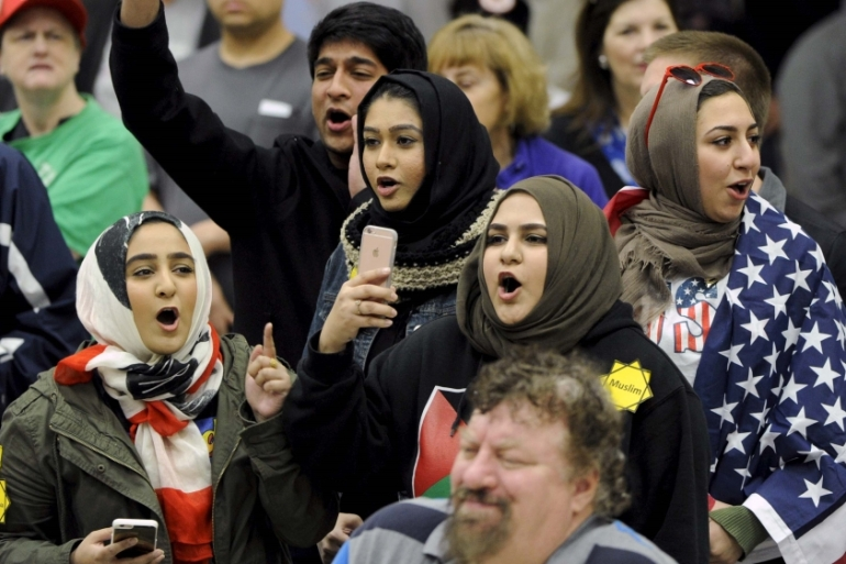 A March 2016 poll showed that 51 percent of Americans support a Muslim ban [Reuters]