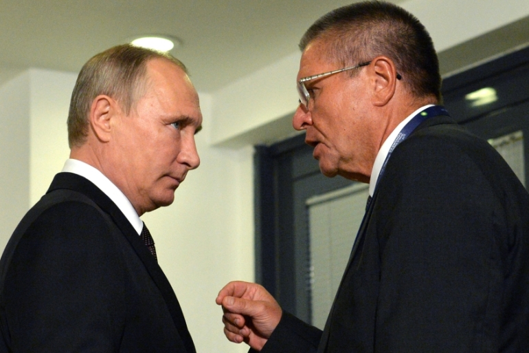 President Putin says he was aware of the investigation into Ulyukayev early on [Reuters]