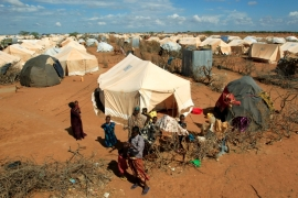 The Dadaab camp in eastern Kenya is home to 217,000 people [File: Thomas Mukoya/Reuters]