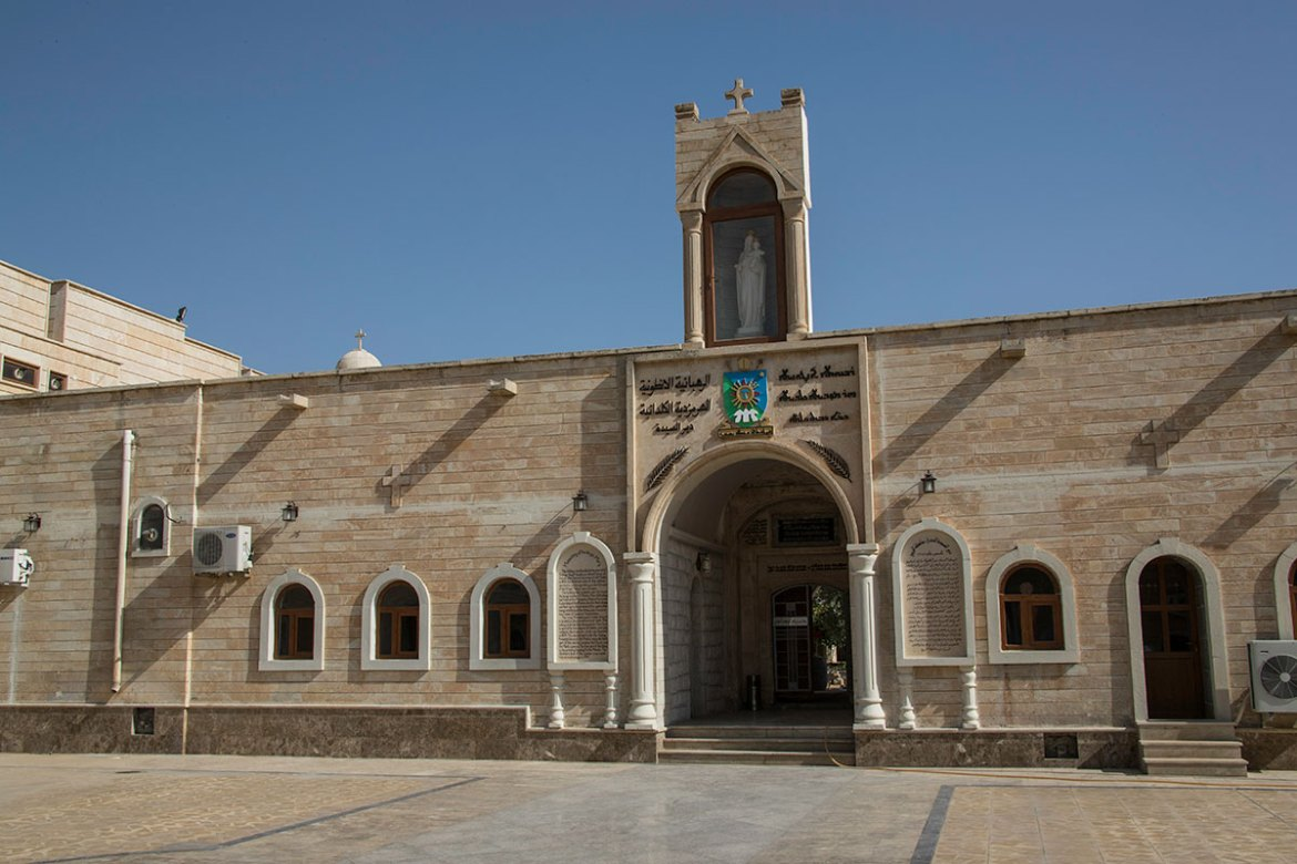 The monastery is the resting place of nine archbishops who preached and lived in Iraq. [Layth Mushtaq/Al Jazeera]