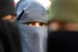 Only a few hundred Muslim women in the Netherlands wear full-face coverings [Toussaint Kluiters/Reuters]
