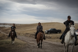 The Pine Ridge Reservation in South Dakota, which encompasses more than 2.8 million acres, was established in 1889 [Patrick Strickland/Al Jazeera]