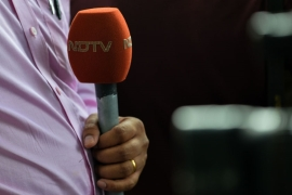 NDTV defended its coverage saying government had singled the channel out [AFP]