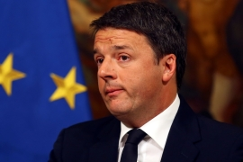 Renzi, who heads the tiny Italia Viva party, had long threatened to quit government [File: Alessandro Bianchi/Reuters]