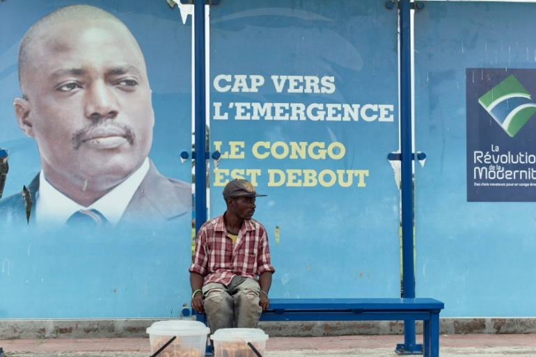 Kabila's refusal to step down has prompted protests in parts of DRC [Robert Carrubba/Reuters]