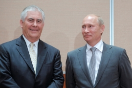 Donald Trump names Rex Tillerson as secretary of state