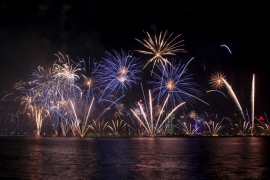 Qatar marks its national day each year with a major display of fireworks in the evening [Reuters]