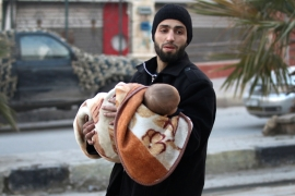 'No one is safe in east Aleppo'