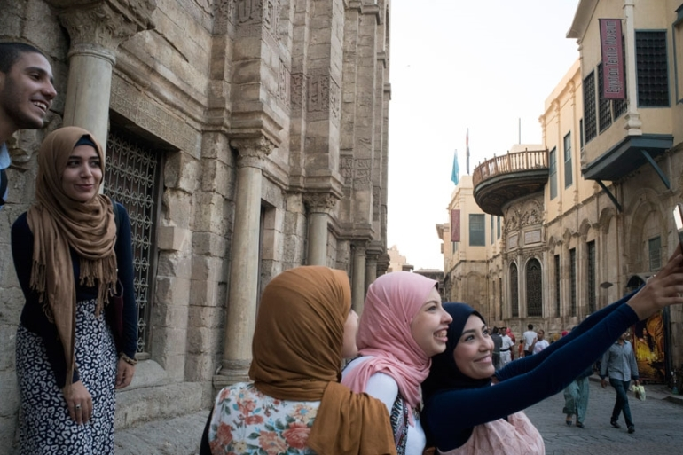 Young Arabs are more civically engaged and socially mobilised, especially young women, than similar youth in other countries around the world [Getty Images]