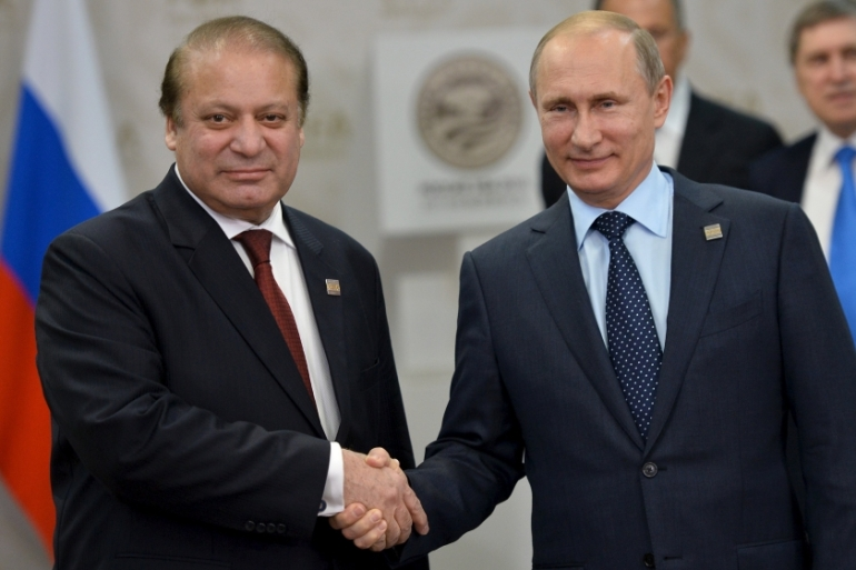 Russian President Vladimir Putin has declined the invitation of Pakistan's prime minister, Nawaz Sharif, to visit Islamabad. [Reuters]