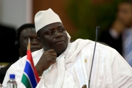 African leaders head to Gambia for mediation talks