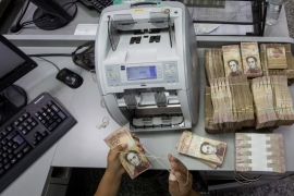 Cash chaos in Venezuela after banknote withdrawn