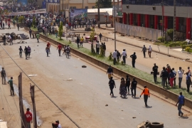 Protests in Anglophone regions turned violent late last year [File: Stringer/Reuters]