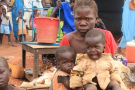 The conflict in Sudan killed thousands and displaced 3 million people [Michelle Nichols/Reuters]