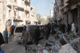 Four evacuees killed, convoy sent back to east Aleppo