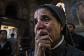 Anger in Egypt after deadly Cairo church blast