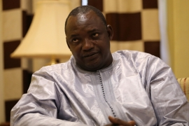 Barrow is scheduled to take office on January 19 [File pic: Afolabi Sotunde/Reuters]