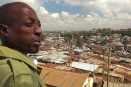 Riding the radio waves in Kibera slum
