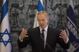 Tony Blair was the most ardent supporter of Israel, with the possible exception of Harold Wilson, writes Shlaim [EPA]