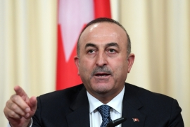 The Turkish foreign minister urged Russia and Iran to pressure Damascus and Hezbollah to stop the fighting [File: EPA]