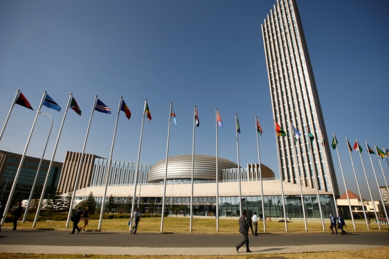 Unlike previous sessions, the AU will hold the session virtually due to the coronavirus pandemic [Tiksa Negeri/Reuters]