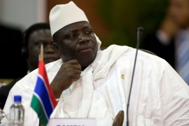 Gambia's president has agreed to leave after weeks of refusal [File: Carlos Garcia Rawlins/Reuters]