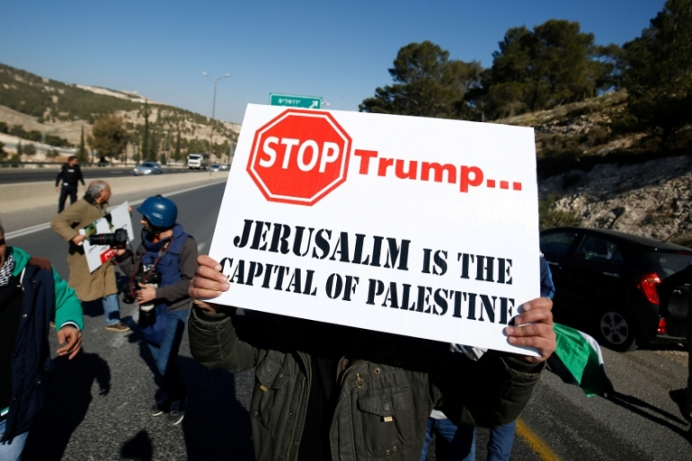 The international community has continually rejected and condemned the Israeli occupation, with repeated emphasis on Jerusalem [Mohamad Torokman/Reuters]