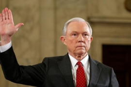 Sessions will be the 84th US attorney general [File: Reuters]