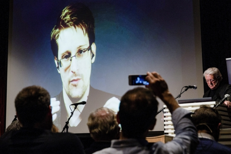 Snowden leaked thousands of classified documents in 2013 which revealed surveillance of private data put in place after the 9/11 attacks [EPA]