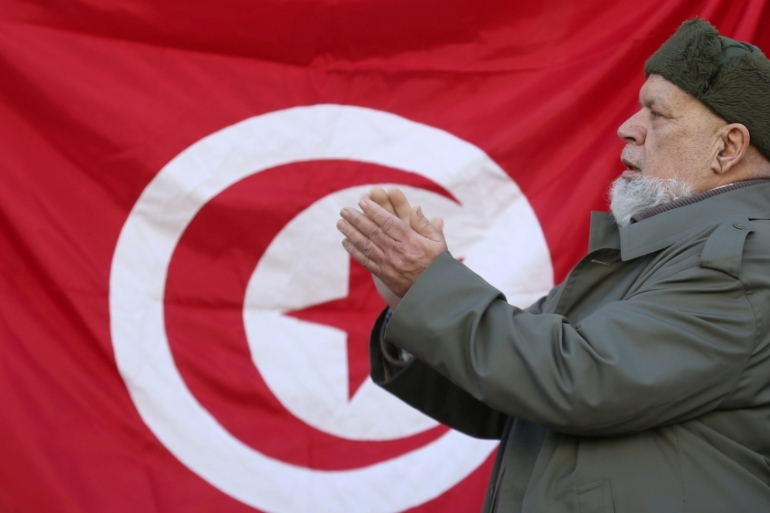 Tunisia on Saturday marked the sixth anniversary of the fall of dictator Zine El Abidine Ben Ali without fanfare [Zoubeir Souissi/Reuters]