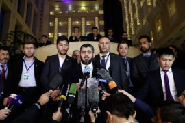 Astana summit: Opposition sets demands for new talks