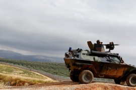 Five soldiers killed near Syrian border town of al-Bab [File: Reuters]