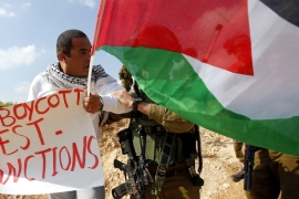 A new law denies entry to anyone who has publicly called for a boycott of Israel [EPA]