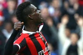Balotelli, born to Ghanian immigrants to Italy, has played for OGC Nice since August 2016 [Reuters]