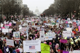 Women's March on Washington draws massive crowds