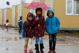 More than 40 percent of Syrian child refugees in Turkey are not in education [Reuters]