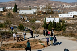 Israel has enacted a flurry of settlement building since Donald Trump became US president [File: Amir Cohen/Reuters]
