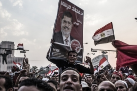 In just over two years, Morsi became the second Egyptian leader to be overthrown [Getty Images]