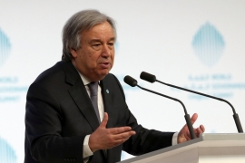 UN chief: 'No alternative' to Palestine-Israel solution